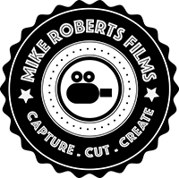 mike roberts films for wedding and commercial  video in and around the north west of england logo